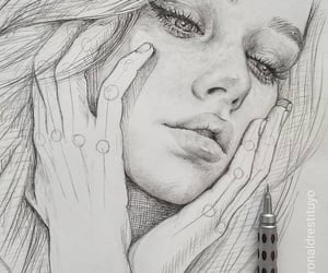 beauty, art, and draw image