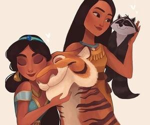 animals, meeko, and tiger image