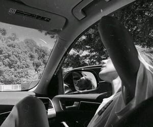 girl, drive, and summer image
