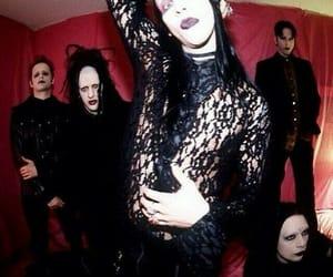 Marilyn Manson, twiggy ramirez, and madonna wayne gacy image