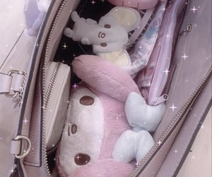 baby, my melody, and pink image