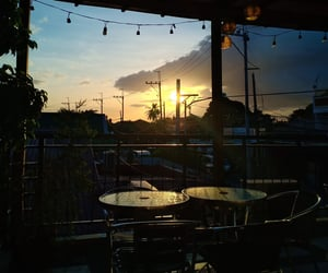Philippines and sunsent image