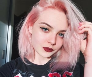 hair dye, haircut, and hairstyle image