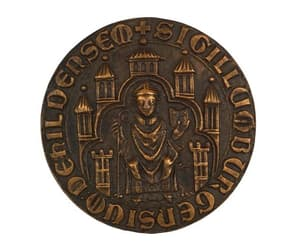 etsy, vintage bronze, and bronze medal image