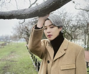 grey hair, bts, and winter package 2020 image