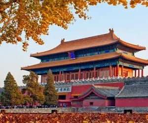 architecture, oriental, and chinese architecture image