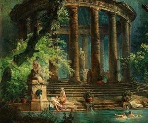 art, aesthetic, and Greece image