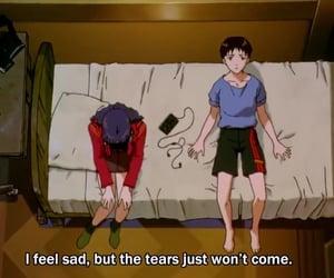 anime, sad, and grunge image