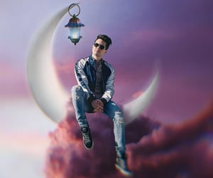 brendon urie, clouds, and magic image