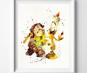 art posters, beauty and the beast, and ebay image