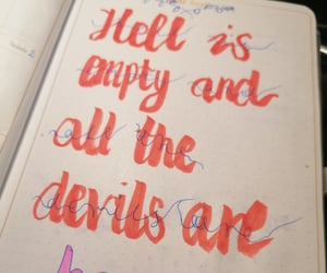 quote, shakespeare, and bujo image