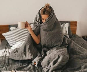 cozy, drink, and girl image