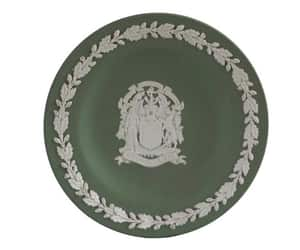 coat of arms, etsy, and vintage wedgwood image