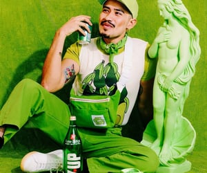 green, lime, and photoshoot image