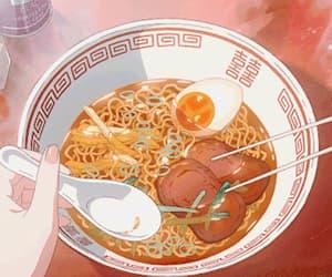 aesthetics, chopsticks, and food image