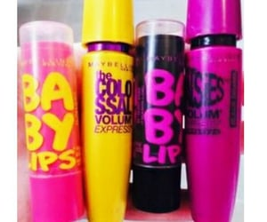 babylips, makeup, and Maybelline image