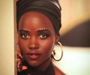 actress, African, and Afro image