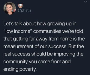 activism, poverty, and quote image