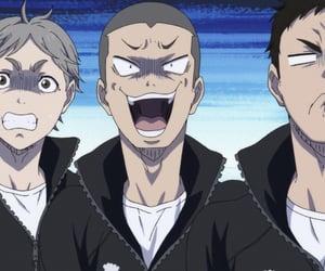 anime, haikyuu, and kawaii image