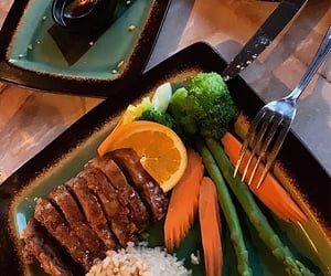 asparagus, chinese, and duck image