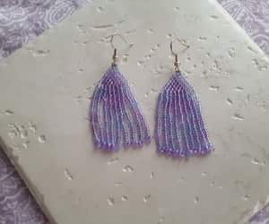 etsy, handmade, and blue and purple image