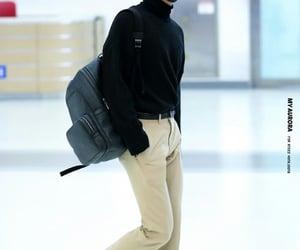 kpop, airport fashion, and hongjoong image