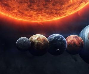 espacio, estrellas, and universo image