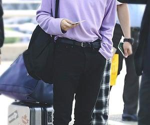 kpop, airport fashion, and san image