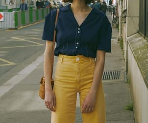 blue, fashion, and outfit image