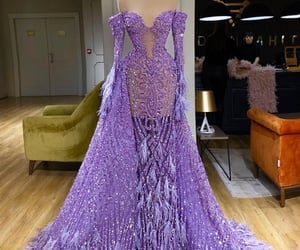 dress, Couture, and luxury image