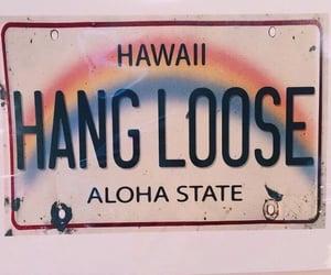 hawaii, Aloha, and rainbow image