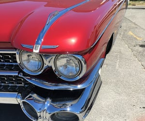 50s, automobiles, and cadillac image