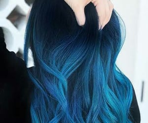 bluehair, cool, and hairgoals image
