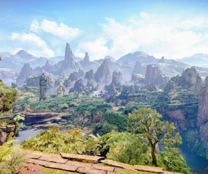 adventure, flora, and mountains image