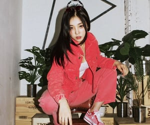 soloist, red aesthetic, and nam yujin image