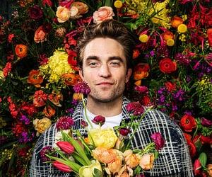 flowers, robert pattinson, and gentlemen image