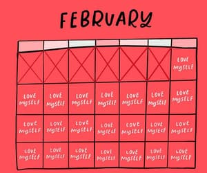 february, quotes, and text image