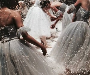 dress, ballet, and dance image