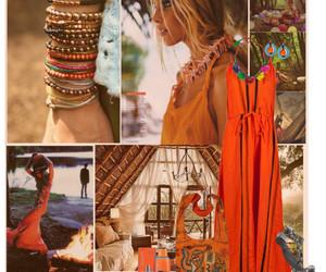 boho, free spirit, and gypsy image