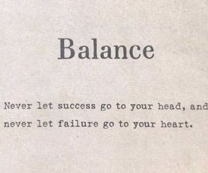 balance, inspiration, and life image
