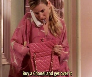 chanel, quotes, and sex and the city image