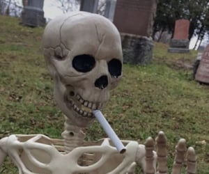 grunge, aesthetic, and cigarette image