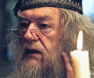 dumbledore and hogwarts image