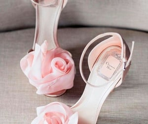 dior, pink, and fashion image
