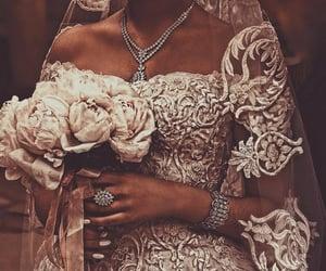 bride, wedding, and gorgeous image