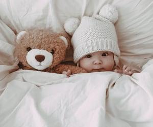 baby, boy, and newborn image