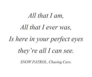 eyes, slow, and snow patrol image