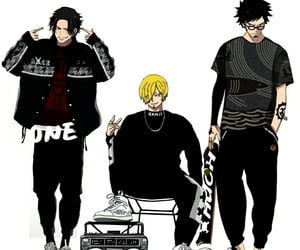 ace, anime, and Law image