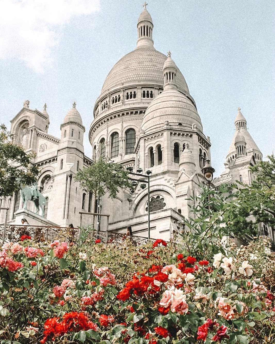 aesthetic, sacre coeur, and wanderlust image