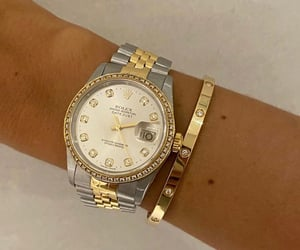 cartier, rolex, and watch image